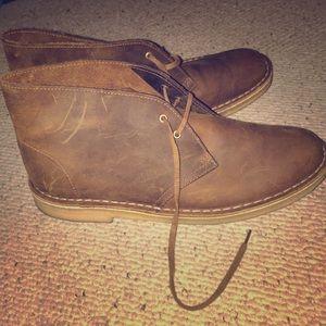 Men's Clark's BUSHACRE 2 CHUKKA desert boot.